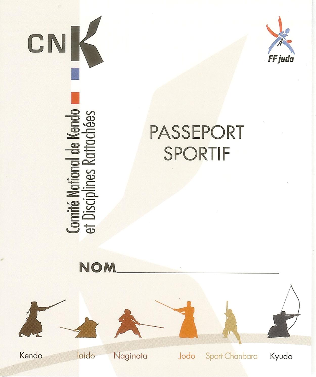 Demande de Passeport Sportif CNK-DR